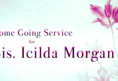 Service for Sis. Icilda Morgan