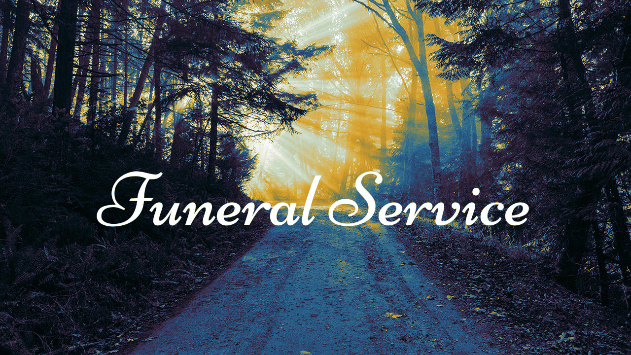 Funeral Service | Brother R. Greaves